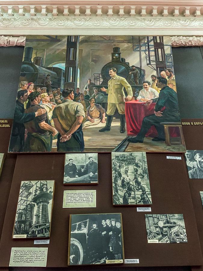 Stalin museum in Gori