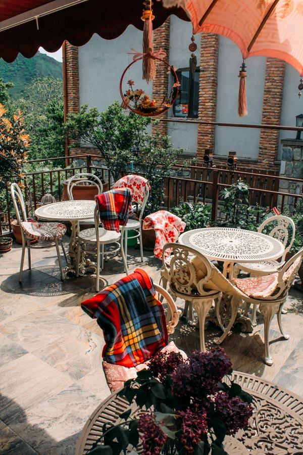 cafe in Mtskheta