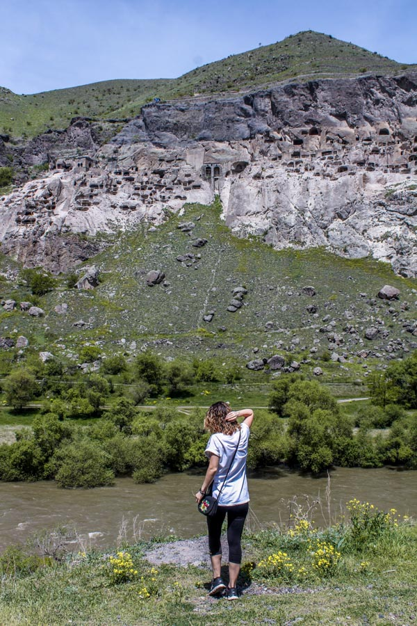 on a road trip from Tbilisi to Vardzia