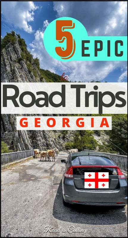 Best road trips in Georgia country