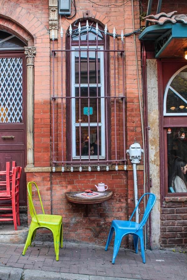 Istanbul Balat neighborhood