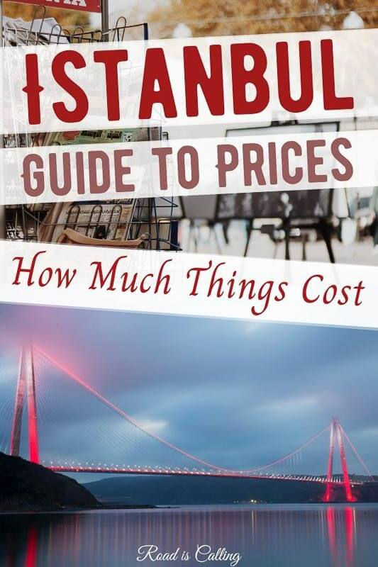 Is Istanbul expensive? This trip cost guide will answer all questions you may have. Find out how much food in Istanbul costs, Istanbul rent and transportation prices and cost of activities and entertainment. #istanbultravel #istanbulturkey #bestofistanbul #istanbultraveltips #istanbul