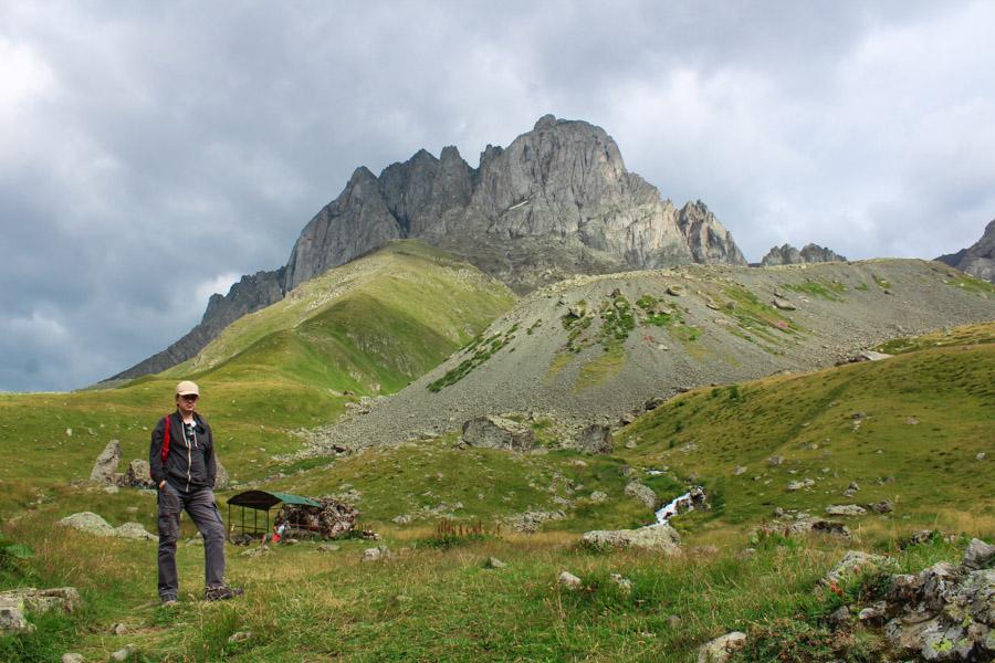 hiking in Juta valley