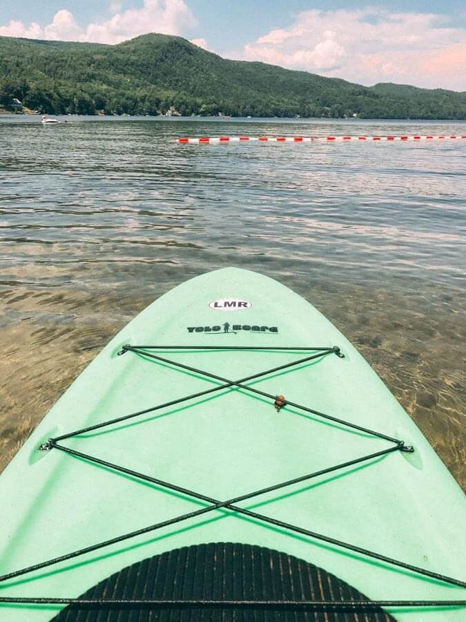 lakes in Vermont for Kayaking