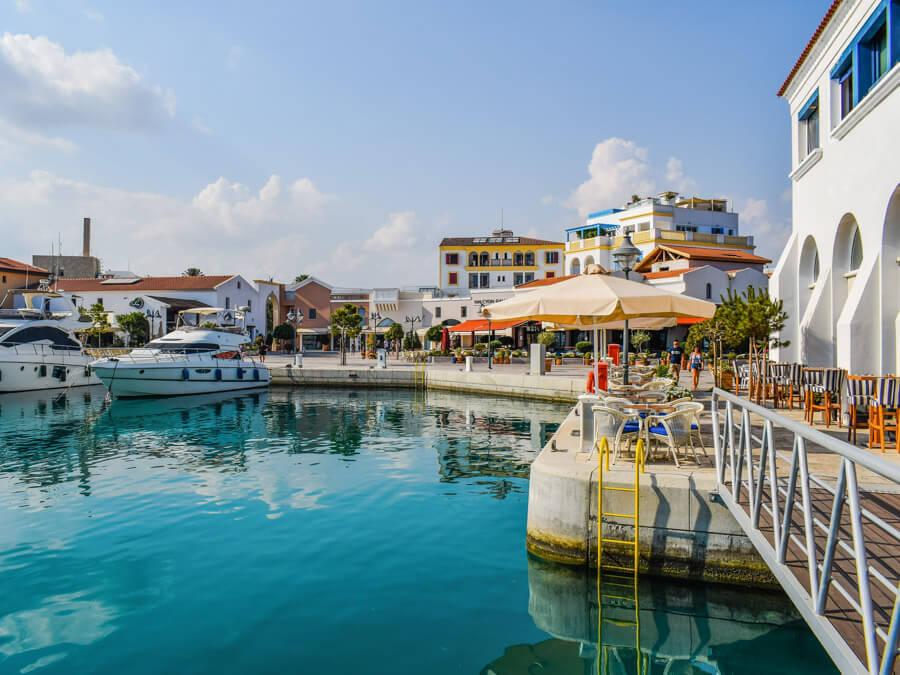 Larnaca to Limassol road trip