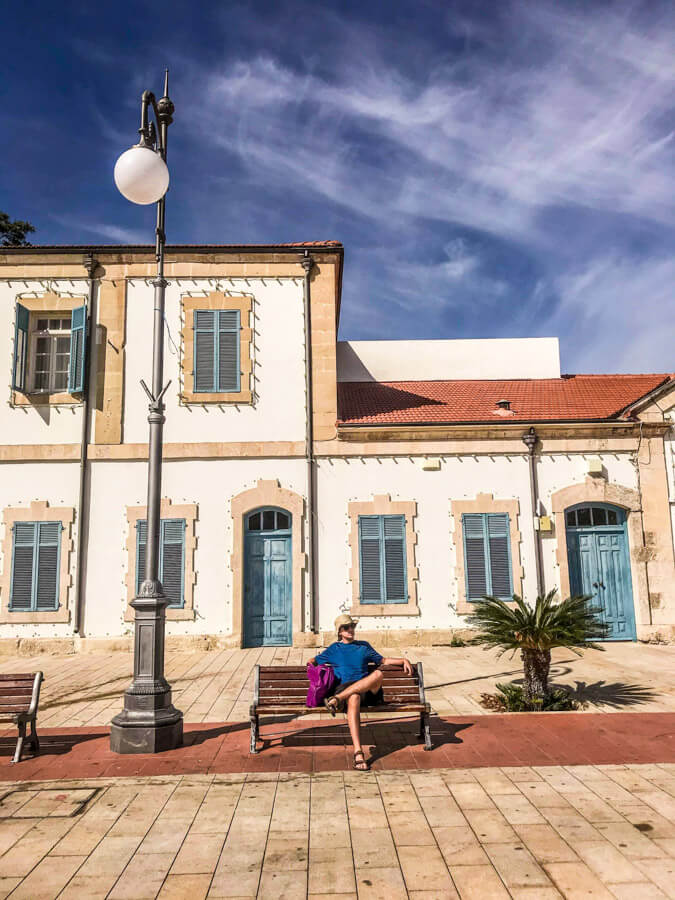 Larnaca city center