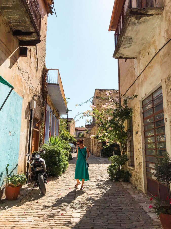 beautiful village in Cyprus