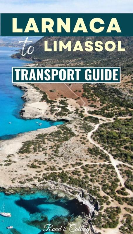 Larnaca to Limassol in Cyprus transport guide