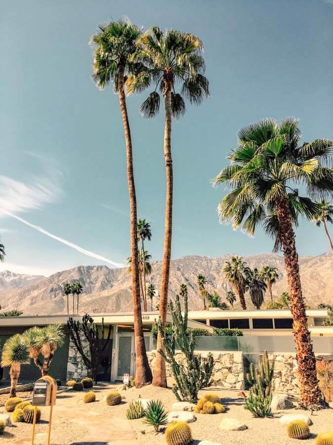 Palm Springs winter getaway