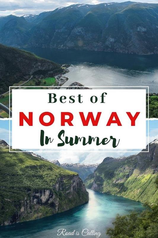 Norway in summer has so much in store for a traveler! See a list of the absolutely jaw-dropping places in Norway that are particularly amazing to visit in summer! Fjords, cliffs, hikes, national parks, train rides, lookouts and more, all these places will amaze you! #norway #summertravel #norwaytravel #adventure #bestofnorway