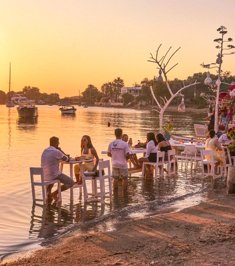 romantic places in Bodrum