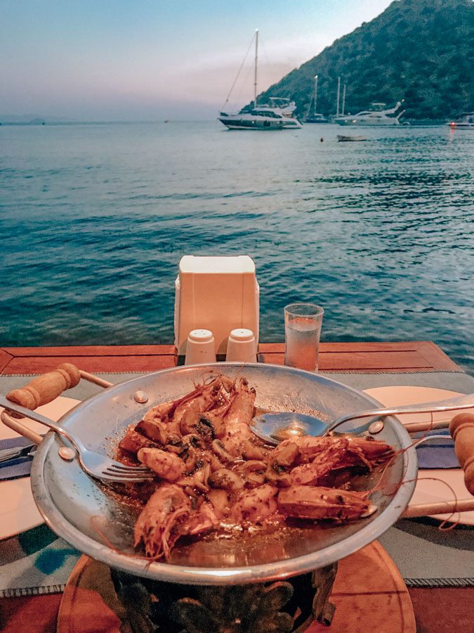best restaurants in Bodrum