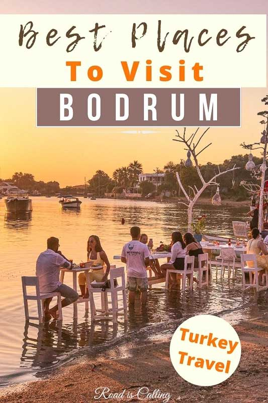 Are you planning a trip to Bodrum, Turkey? I want to share a list of my favourite places to visit in Bodrum for your bucket list. Learn about Bodrum must-see attractions, instagrammable spots, lovely restaurants, boat trips, and much more. It's all here, in my guide! #turkeybucketlist #bestofturkey #bodrumturkey