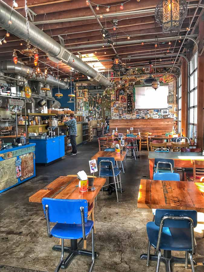 cafe in Portland Oregon