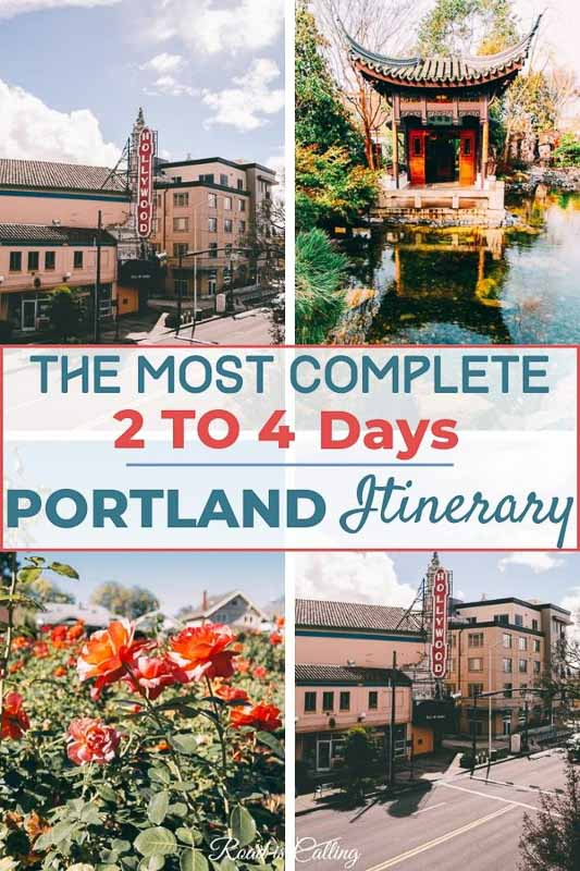 This 2 to 4-day Portland itinerary will ensure that you get the most out of your trip! | Portland Oregon | West Coast | Best Cities in USA #westcoastroadtrip #portlandoregon #oregontravel