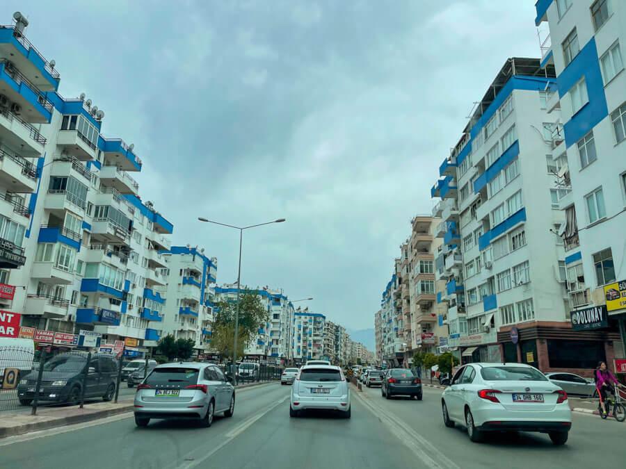 renting a car in Antalya