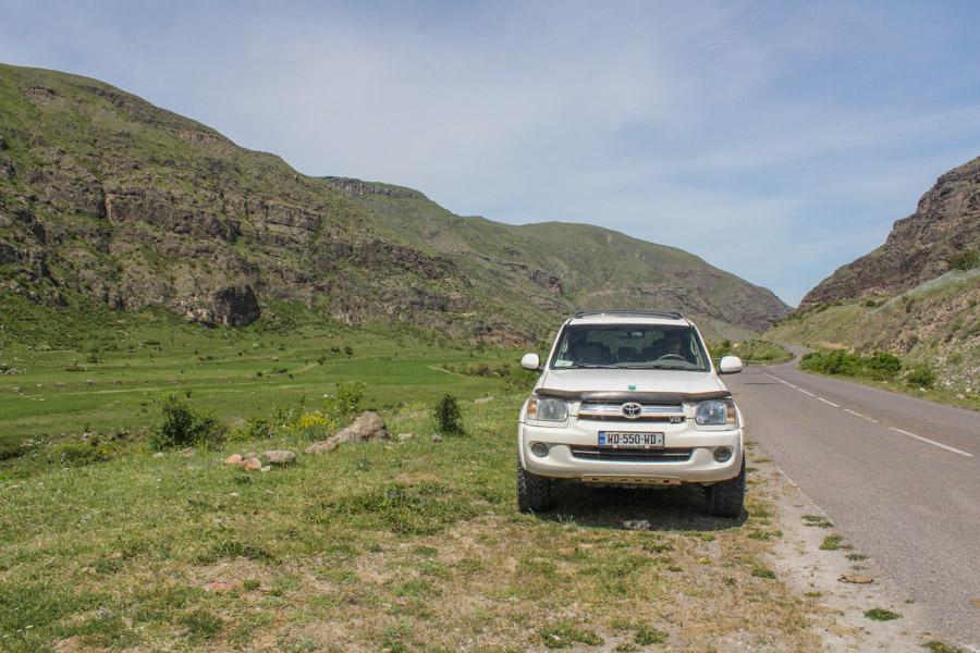 renting a car in Tbilisi