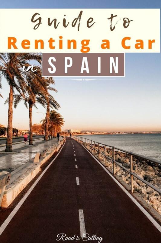 Hiring a car in Spain