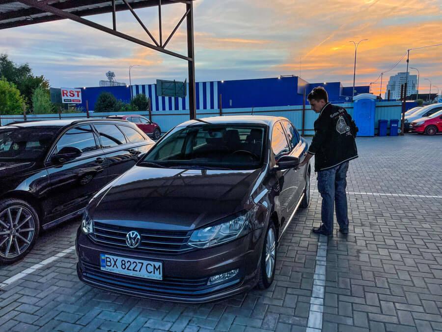 car hire in Ukraine