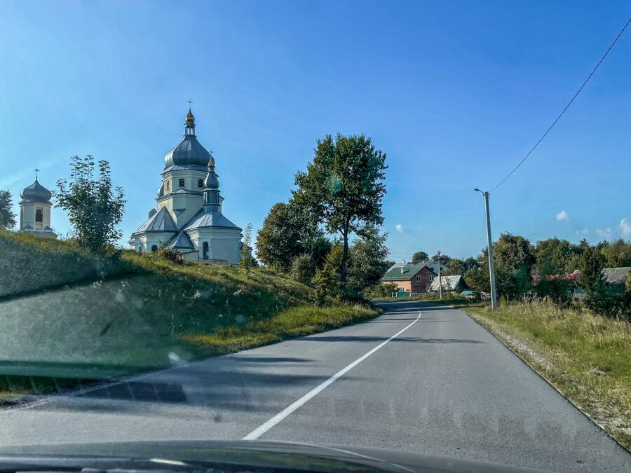 Ukraine country roads
