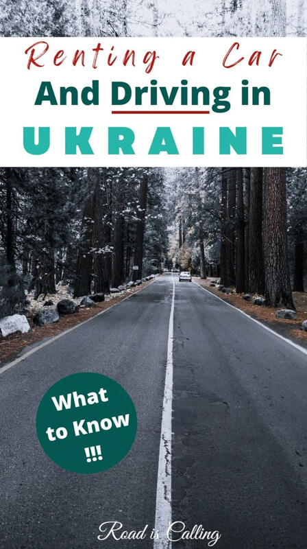 Renting a car in Ukraine - What to Know