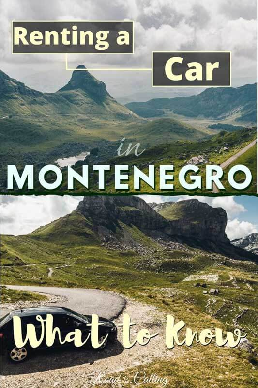 Tips for a car hire in Montenegro: find out where is the best place to rent a car, how much it costs, what documents you need and more. Also, learn about Montenegro driving #travelinmontenegro #bestofmontenegro #montenegro #balkansroadtrip