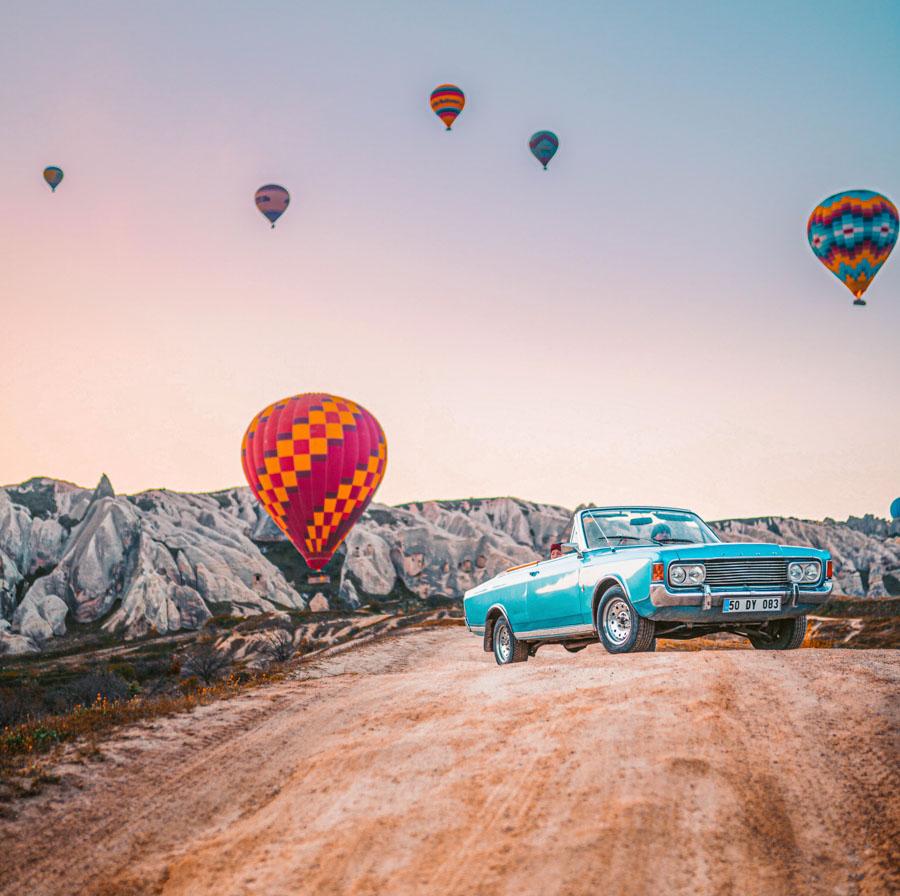 driving in Cappadocia