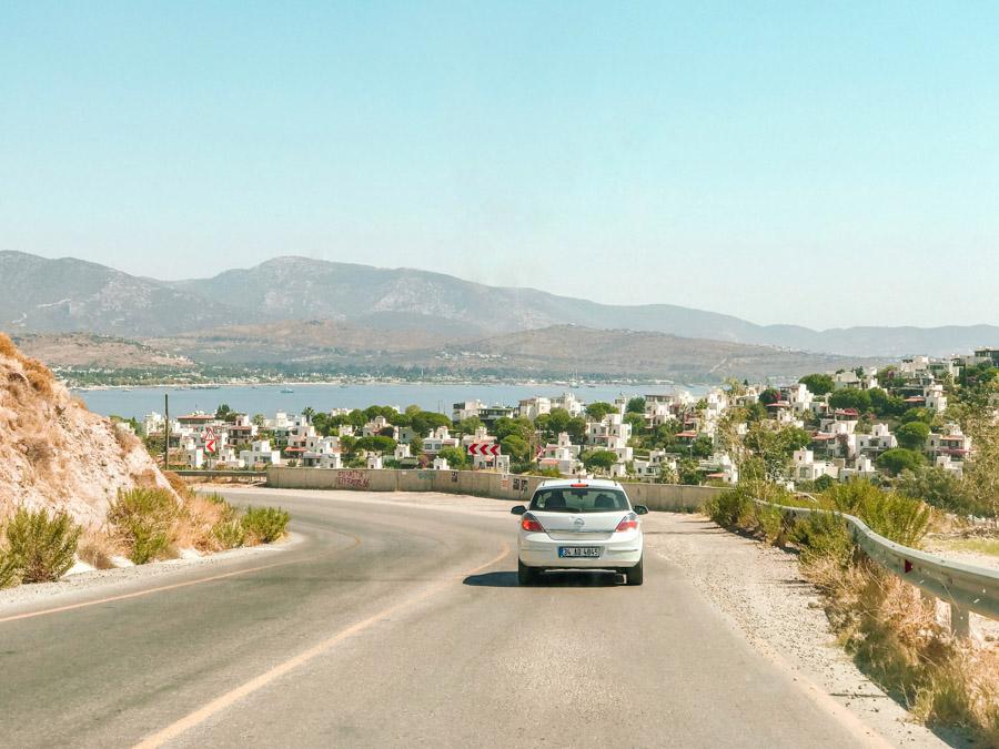 renting a car in Turkey