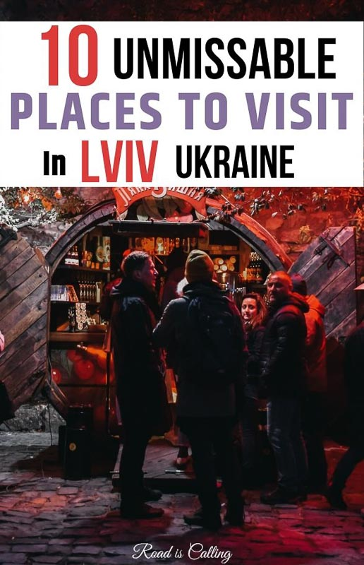 My list with hidden gems and unique places to visit in Lviv for your unforgettable holiday in Western Ukraine #bestoflviv #ukrainetravel #lvivukraine