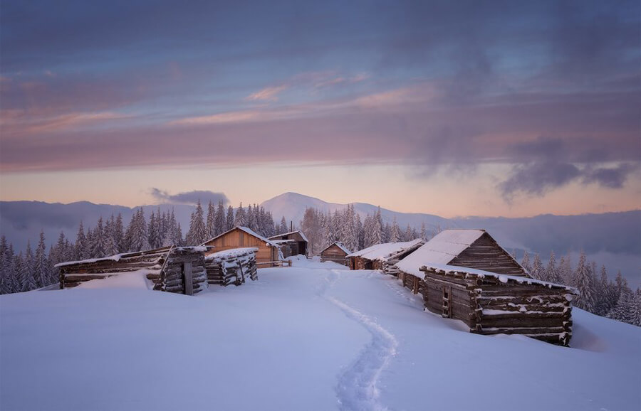 Ukraine skiing