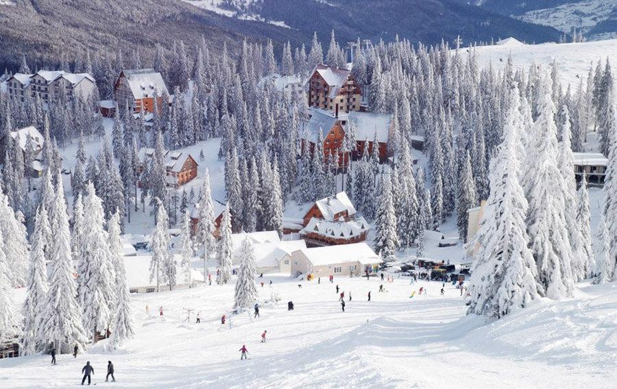 Slavske ski resort