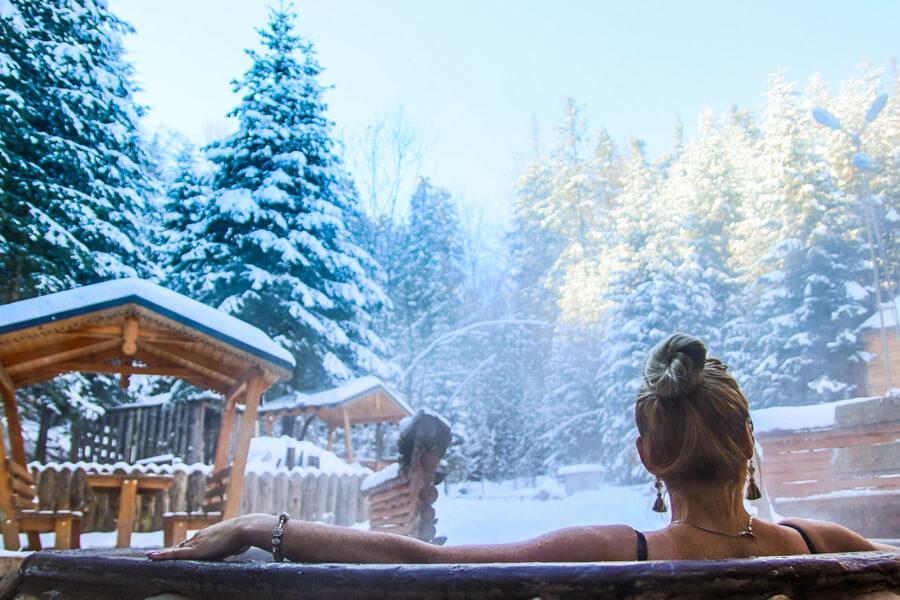 Myhove ski resort in Ukraine