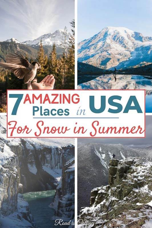 places that have snow all year round