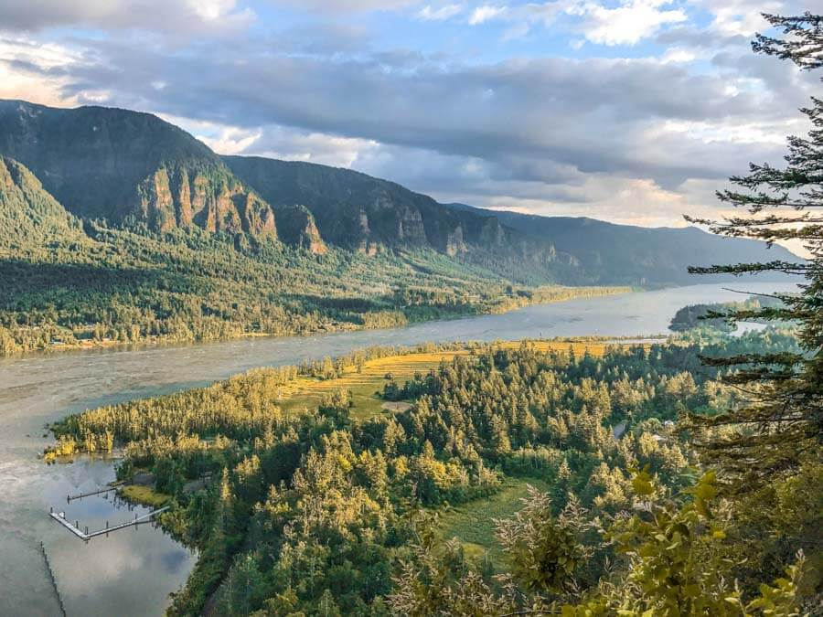 columbia river gorge washington side