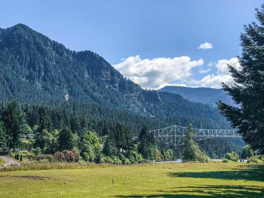 Columbia river gorge scenic drive