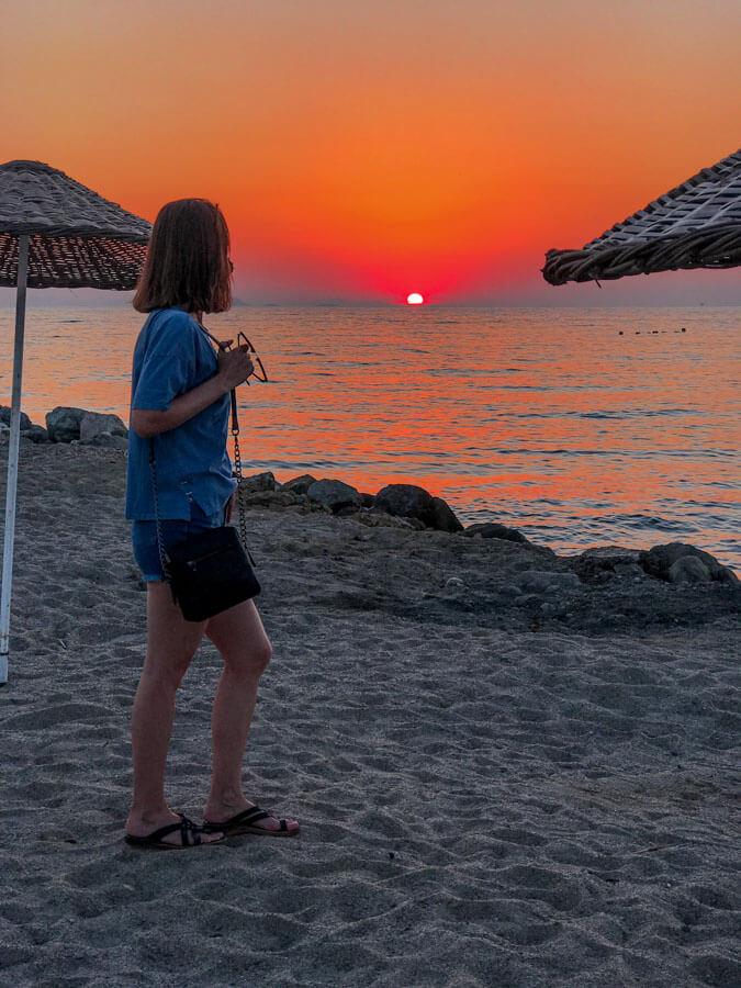 Bodrum Turgutreis sunset