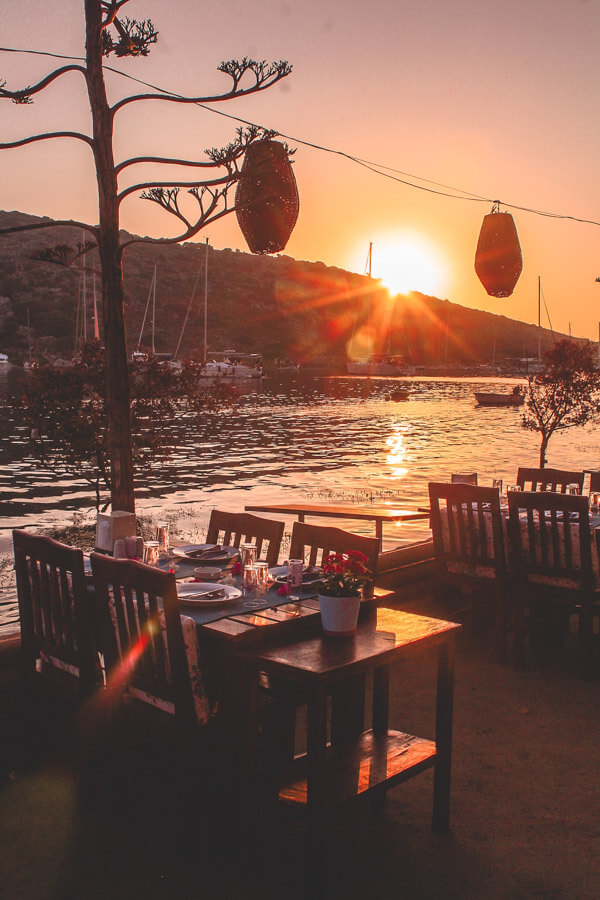 best Bodrum sunset spots