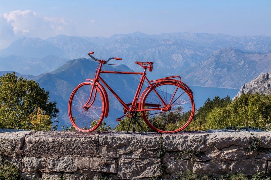 biking in Kotor