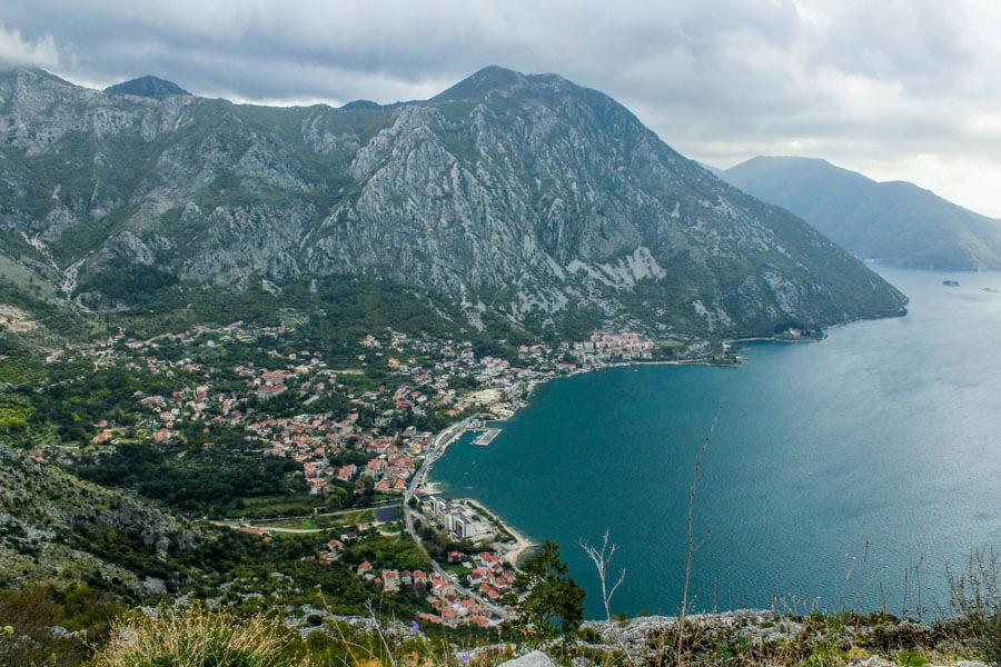 hiking in Kotor