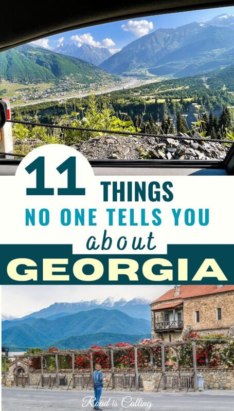 What is traveling in Georgia country is like?