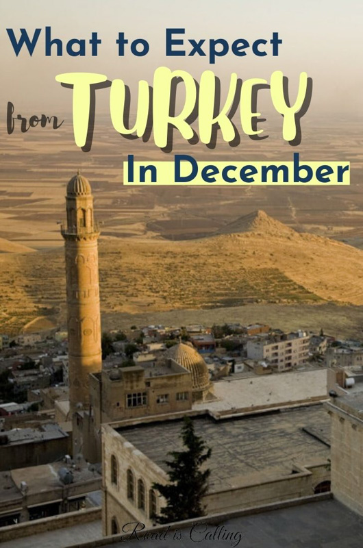 Guide to Turkey in December