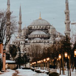 Turkey in winter
