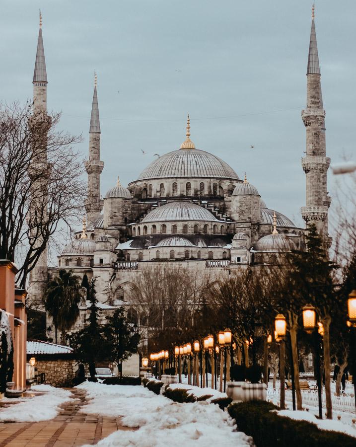 visiting Turkey in winter