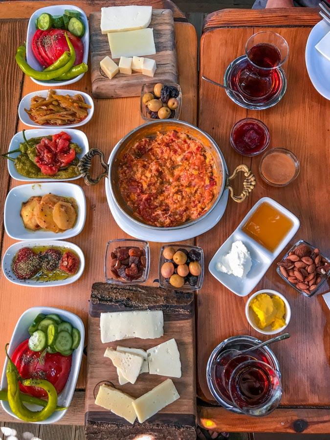 Turkish breakfast ideas