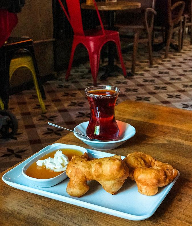 breakfast food in Turkey