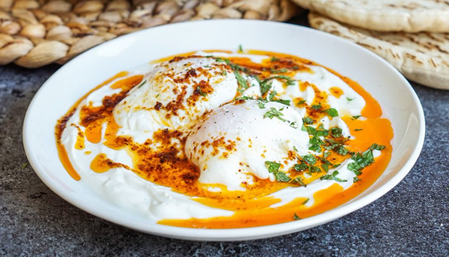 Turkish style eggs