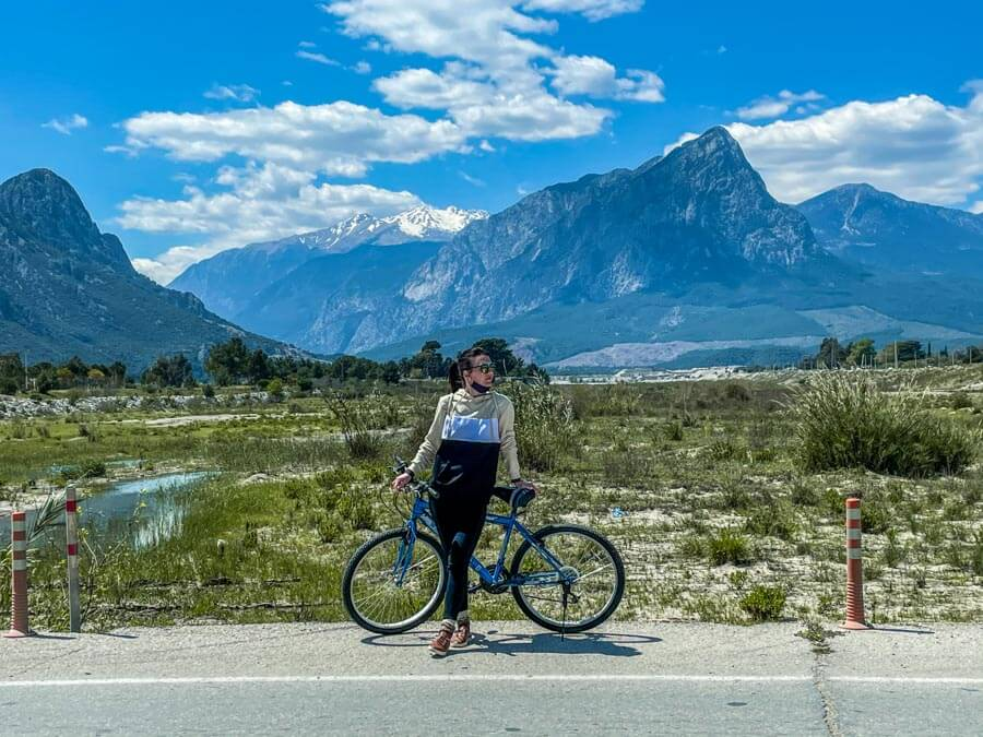 biking in Antalya