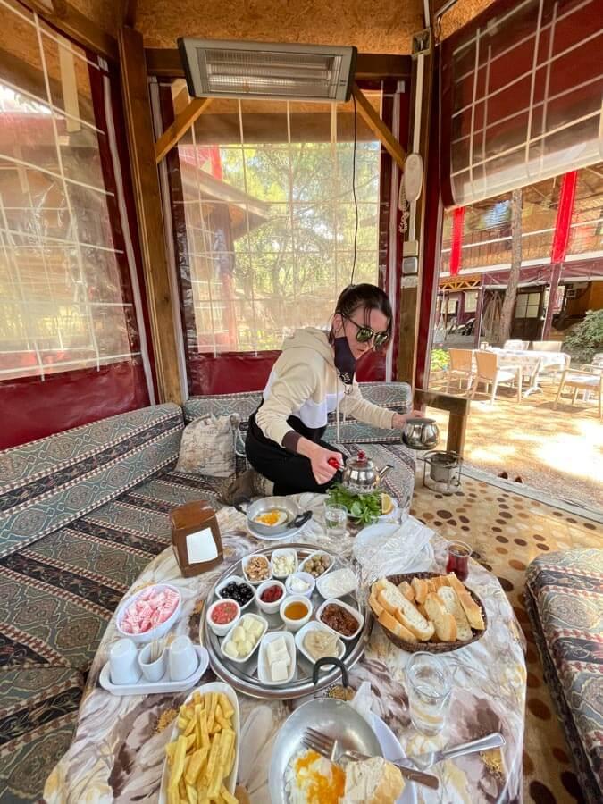 best Turkish breakfast in Antalya