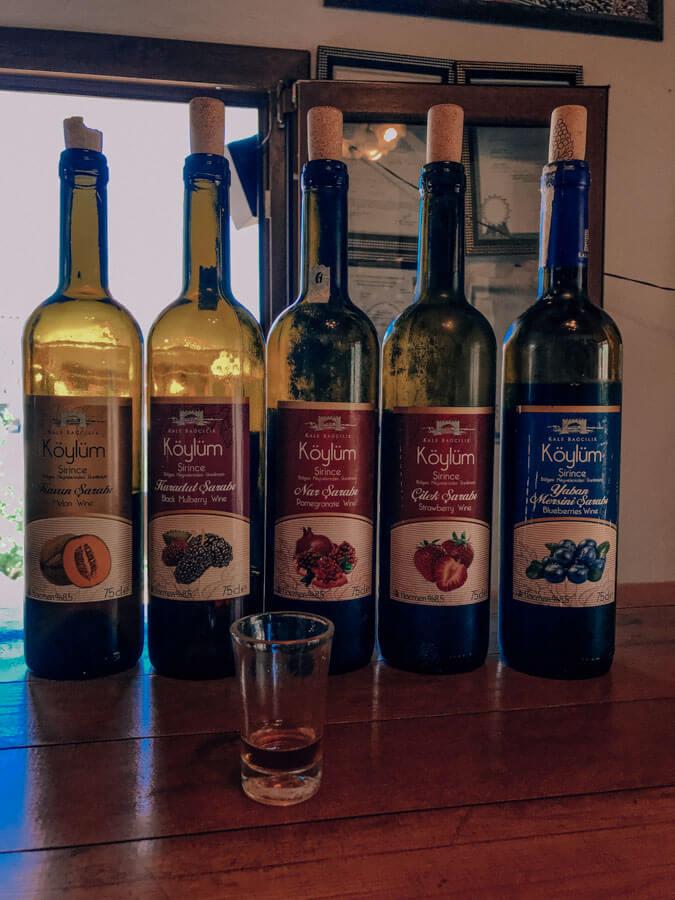 Wine tasting in Sirince village