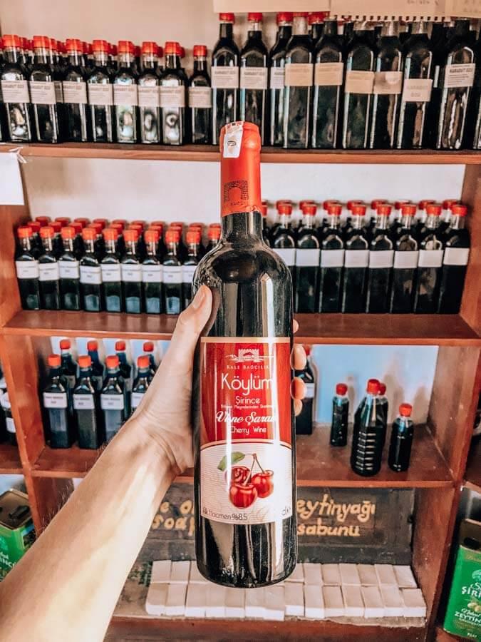 Sirince wine tasting